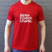 Aberdeen FC: Alpha Foxtrot Charlie T-Shirt