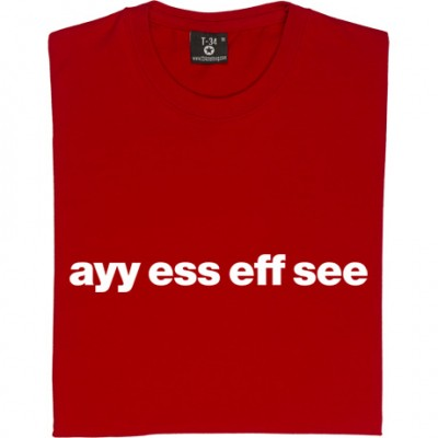 "Accrington Stanley ""Ayy Ess Eff See"""