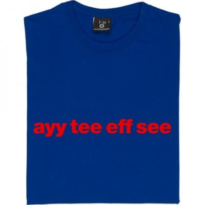 """Aldershot Town """"Ayy Tee Eff See"""""""