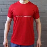 Crewe Alexandra: Alexandra Stadium Coordinates T-Shirt