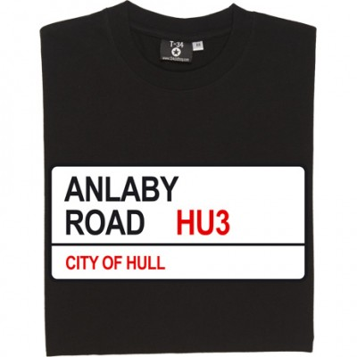 Hull City: Anlaby Road HU3 Road Sign