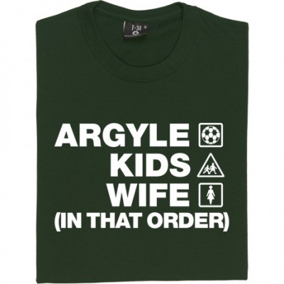 Argyle Kids Wife (In That Order)
