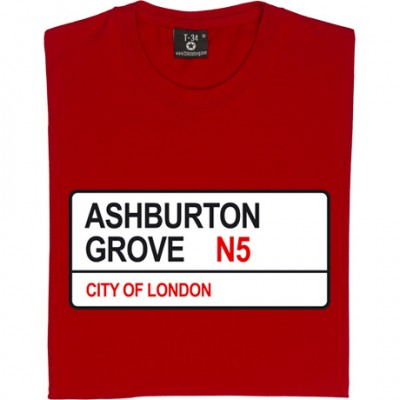 Arsenal: Ashburton Grove N5 Road Sign
