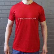 Bristol City: Ashton Gate Coordinates T-Shirt