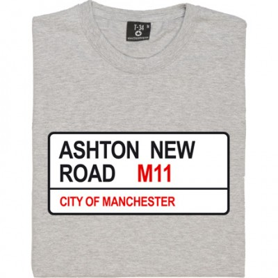 Manchester City: Ashton New Road M11 Road Sign