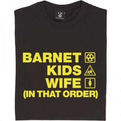 Barnet Kids Wife (In That Order)