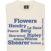 Blackburn Rovers 1995 Championship Winning Team Line Up T-Shirt