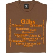 Blackpool 2010 Football League Championship Play-Off Final Line Up T-Shirt