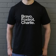 Blackpool FC: Bravo Foxtrot Charlie T-Shirt