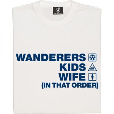 Wanderers Kids Wife (In That Order)
