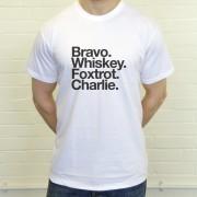 Bolton Wanderers FC: Bravo Whiskey Foxtrot Charlie T-Shirt