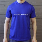 Oldham Athletic: Boundary Park Coordinates T-Shirt