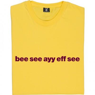 "Bradford City ""Bee See Ayy Eff See"""