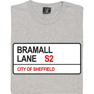 Sheffield United: Bramall Lane S2 Road Sign