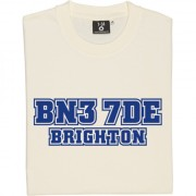 Brighton and Hove Albion Goldstone Ground Postcode T-Shirt