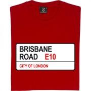 Leyton Orient: Brisbane Road E10 Road Sign T-Shirt
