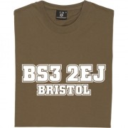 Bristol City Postcode T-Shirt