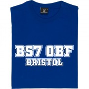Bristol Rovers Postcode T-Shirt