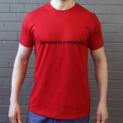 Stoke City: Britannia Stadium Coordinates T-Shirt