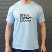 Burnley FC : Bravo Foxtrot Charlie T-Shirt