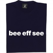 "Bury ""Bee Eff See"" T-Shirt"
