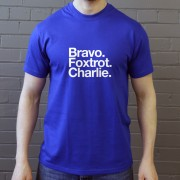 Bury Football Club: Bravo Foxtrot Charlie T-Shirt