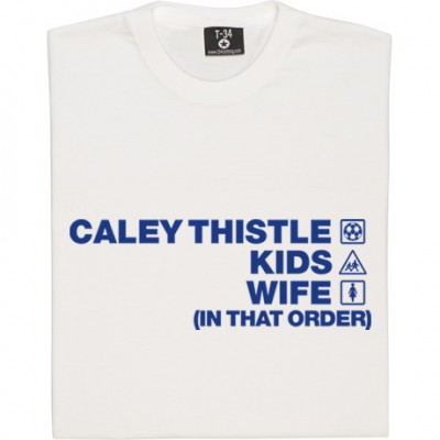 Caley Thistle Kids Wife (In That Order)