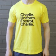 Cambridge United Football Club: Charlie Uniform Foxtrot Charlie T-Shirt