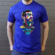 Eric Cantona Colour Block T-Shirt