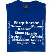 Cardiff City 1927 FA Cup Final Line-Up T-Shirt