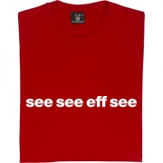 "Cardiff City ""See See Eff See"" T-Shirt"