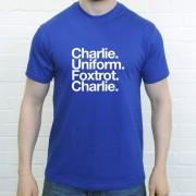 Carlisle United FC: Charlie Uniform Foxtrot Charlie T-Shirt