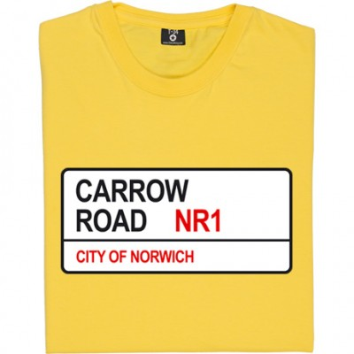 Norwich City: Carrow Road NR1 Road Sign
