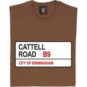 Birmingham City: Cattell Road B9 Road Sign T-Shirt