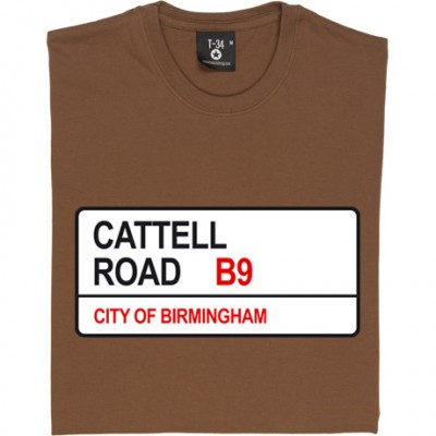 Birmingham City: Cattell Road B9 Road Sign