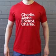 Charlton Athletic Football Club: Charlie Alpha Foxtrot Charlie T-Shirt