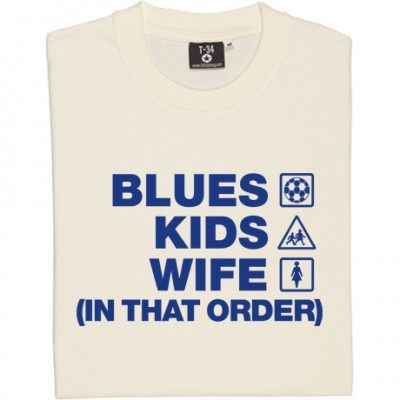 Blues Kids Wife (In That Order)