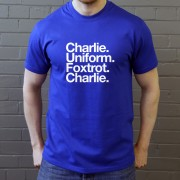 Colchester United: Charlie Uniform Foxtrot Charlie T-Shirt