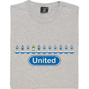 Colchester United Table Football T-Shirt