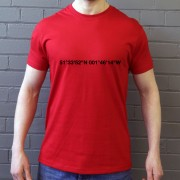 Swindon Town: County Ground Coordinates T-Shirt