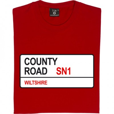 Swindon Town: County Road SN1 Road Sign