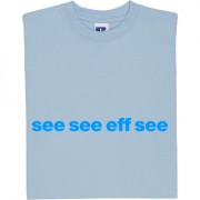 "Coventry City ""See See Eff See"" T-Shirt"
