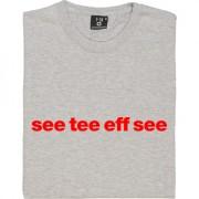 """Crawley Town """"See Tee Eff See"""" T-Shirt"""