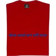 """Dagenham & Redbridge """"Dee and Arr Eff See"""" T-Shirt"""