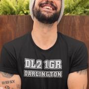 Darlington Postcode T-Shirt