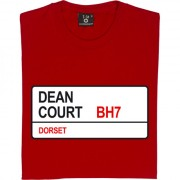AFC Bournemouth: Dean Court BH7 Road Sign T-Shirt