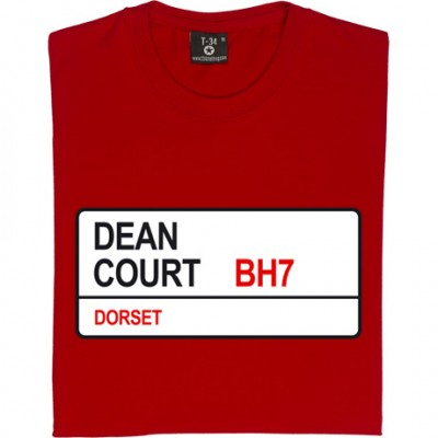 AFC Bournemouth: Dean Court BH7 Road Sign
