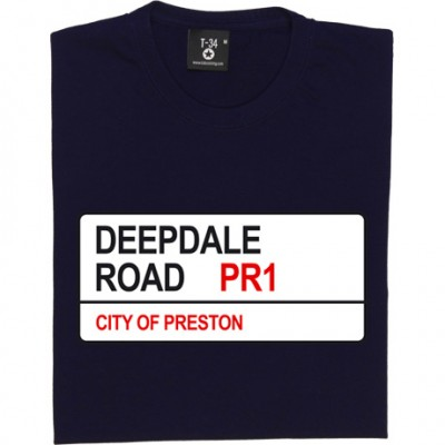 Preston North End: Deepdale Road PR1 Road Sign
