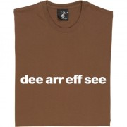 "Doncaster Rovers ""Dee Arr Eff See"" T-Shirt"