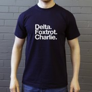 Dundee Football Club: Delta Foxtrot Charlie T-Shirt